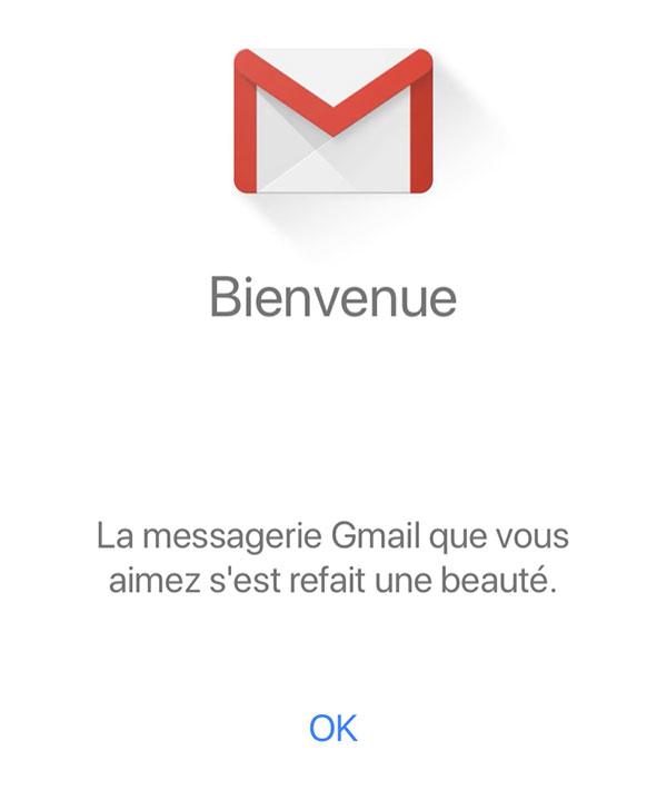 Bienvenue sur Gmail