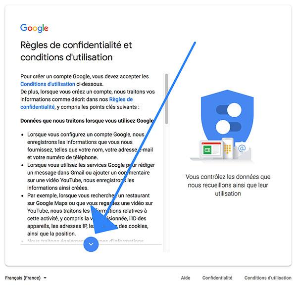Comment créer un compte Gmail
