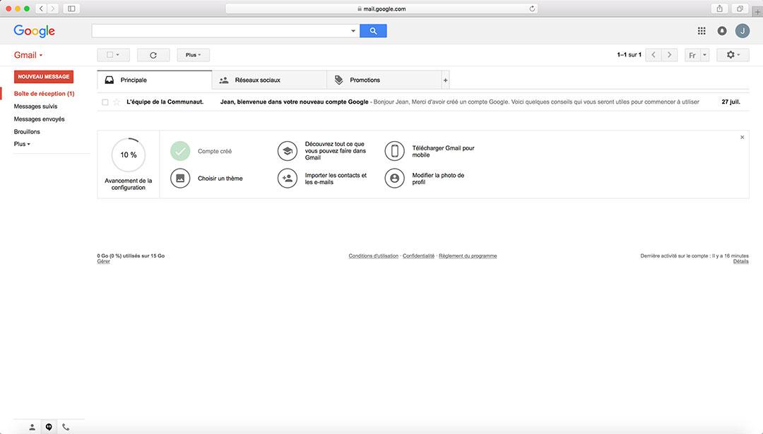 Comment se connecter sur Gmail