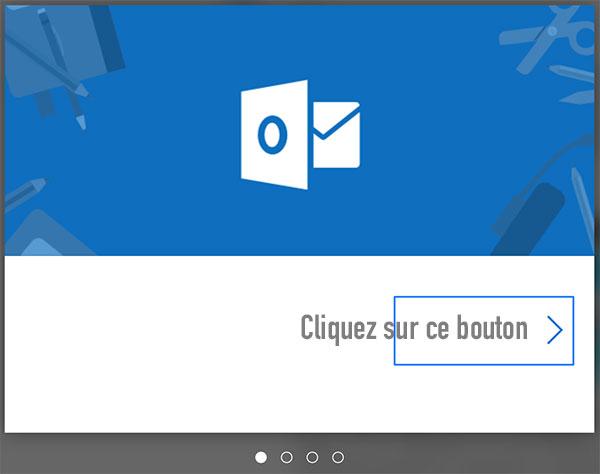 Bienvenue sur Hotmail