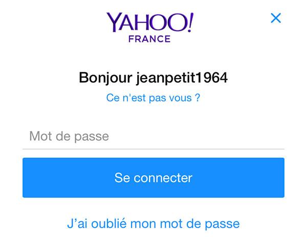Yahoo France connexion