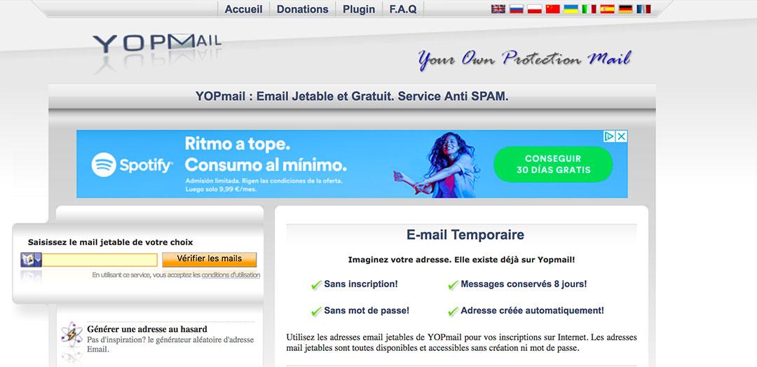 Créer un compte YOPmail - Astuces Pratiques