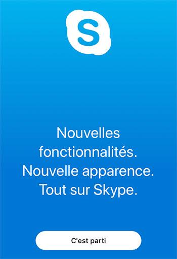 Créer un compte Skype