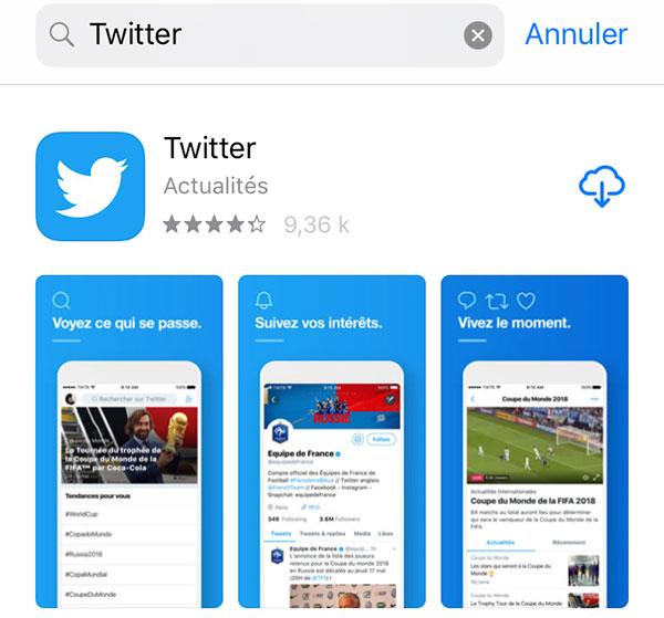 Télécharger Twitter