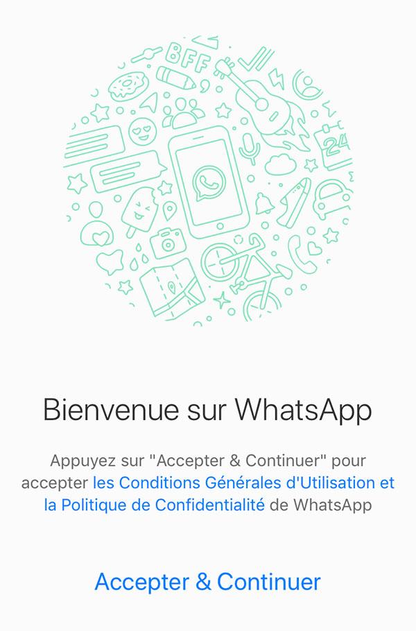 Créer un compte WhatsApp