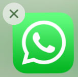 Supprimer l'application WhatsApp