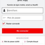 Connexion SFR Mail
