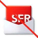 Supprimer adresse SFR Mail