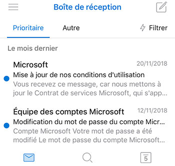 App Outlook